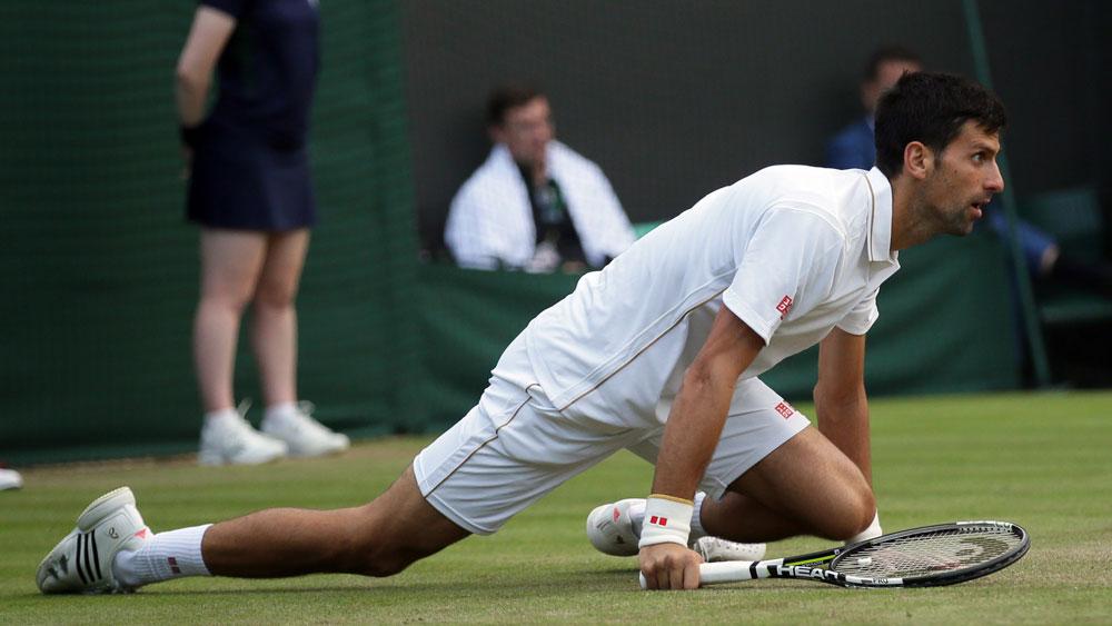 Novak Djokovic (AAP)