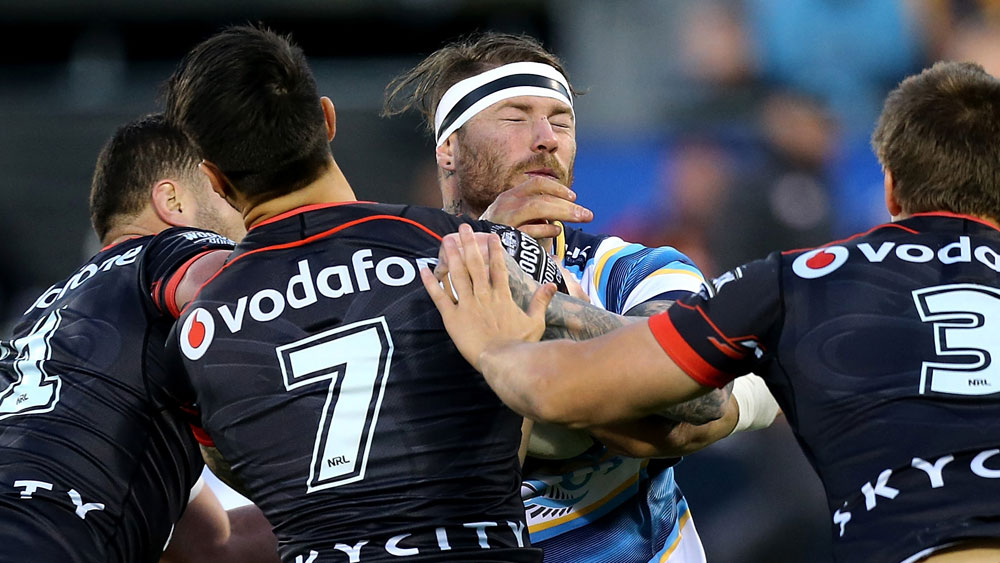 Warriors hang in to beat Titans in NRL