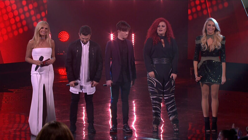 The finalists in the 2016 season of The Voice