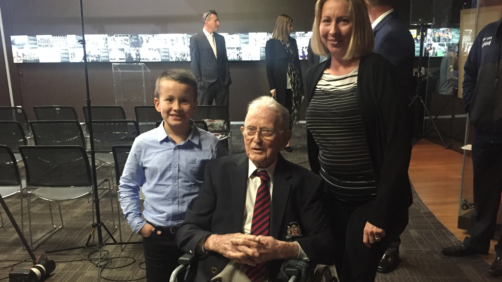 Mr Culkin backed himself as his favourite ref in the business. (Mary Jordan/9news.com.au)