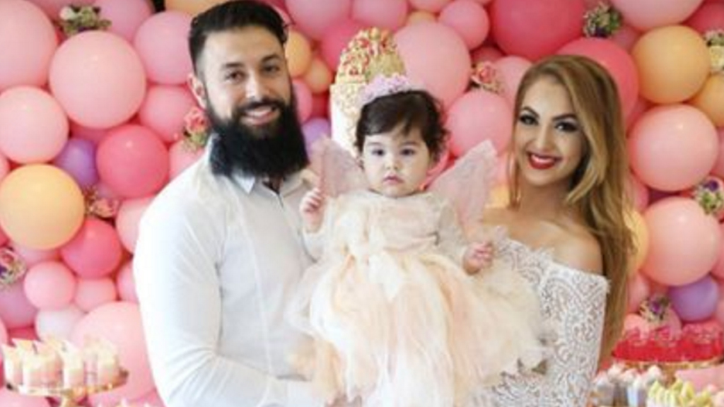 Sophia-Rose had a lavish first birthday party.