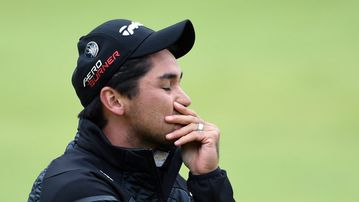 Golf champion Jason Day is currently in ninth place at the PGA Championship. (AAP)
