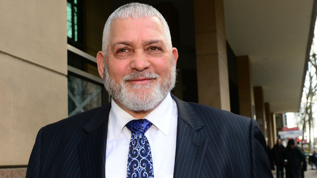 Mick Gatto in Vic court over gun charges