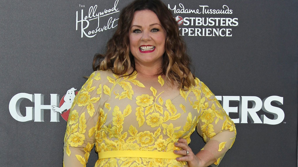 "Melissa McCarthy said she's ""100 percent"" behind Jennifer Aniston (AAP)"