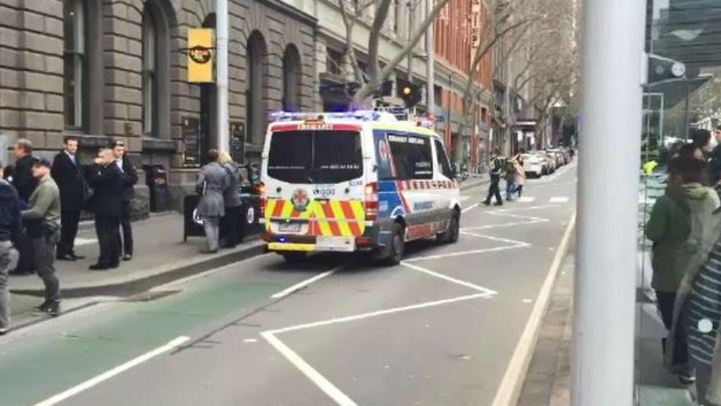 Woman, baby dead in Melbourne CBD fall