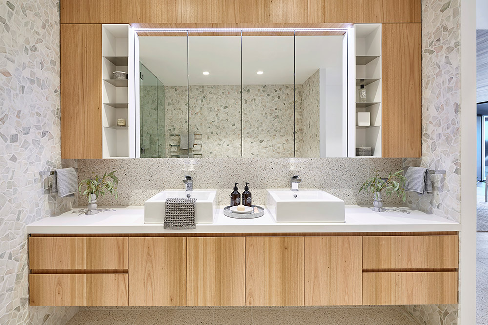 32 Best Master Bathroom Ideas And Designs For 2019: Trending: Terrazzo Tiles