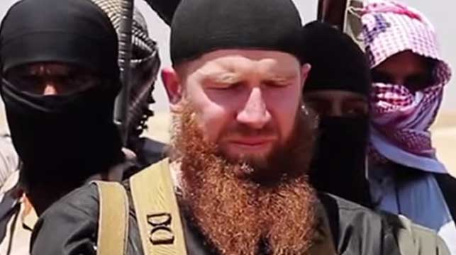 US confirms strike on IS commander 'Omar the Chechen'