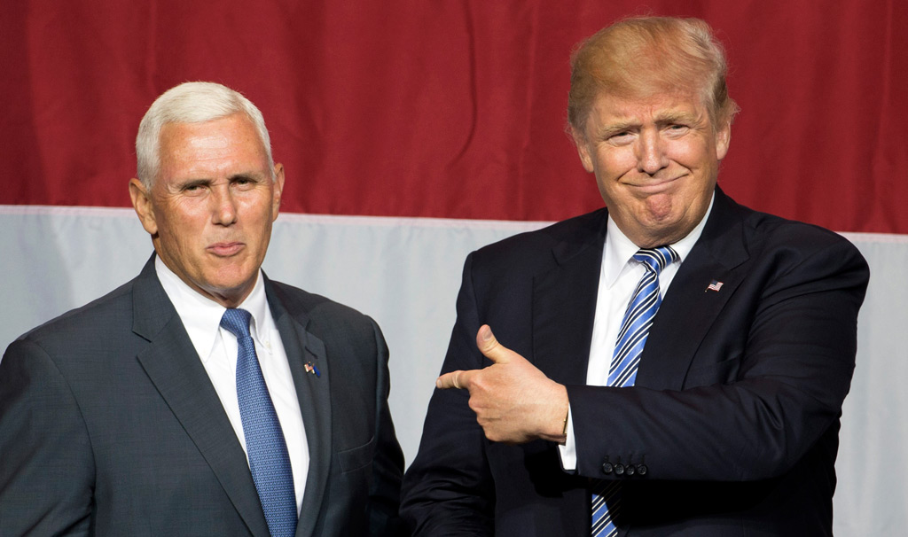 Donald Trump confirms Indiana governor Mike Pence as vice presidential running mate