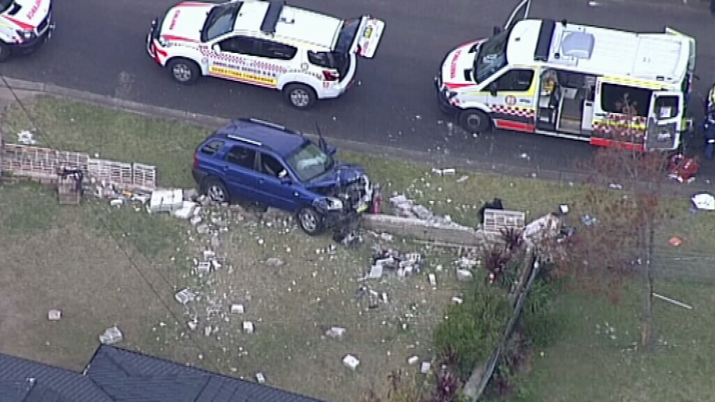 The driver of the car has been charged with attempted murder. (9NEWS)