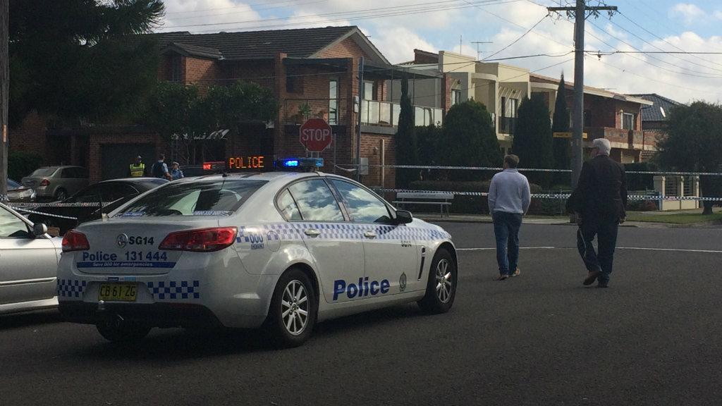 The woman died at the scene. (Rebecca Resuta/9news.com.au)