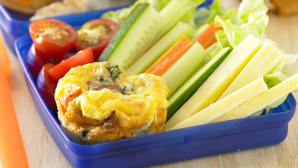Mini vegetable frittatas