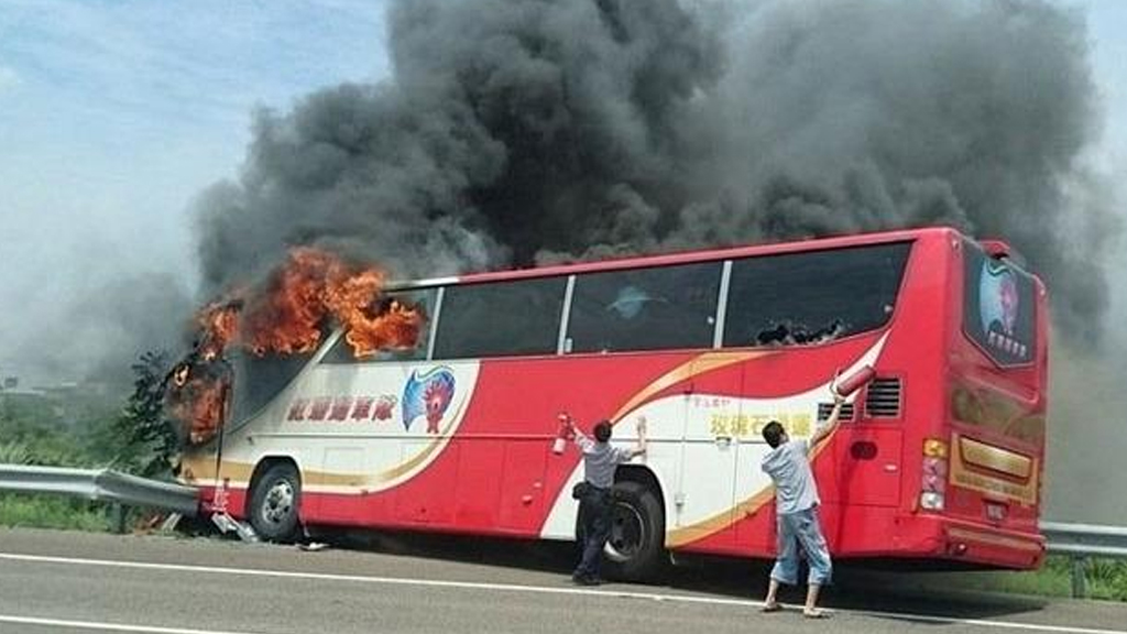 "Deadly bus crash in Taiwan in July was caused by ""suicidal"" driver."