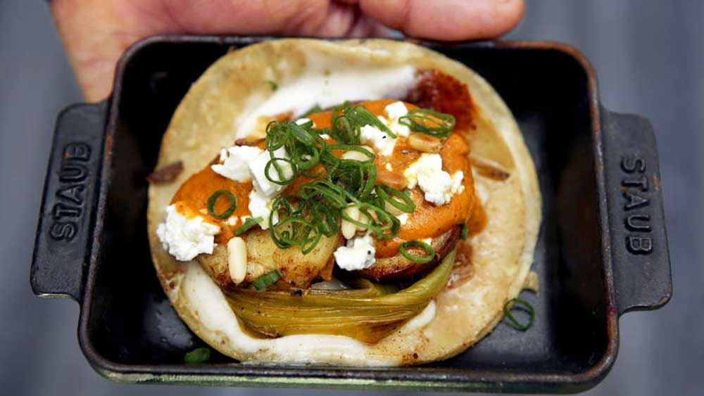 Wes Avila's guerrilla tacos. Image: Supplied