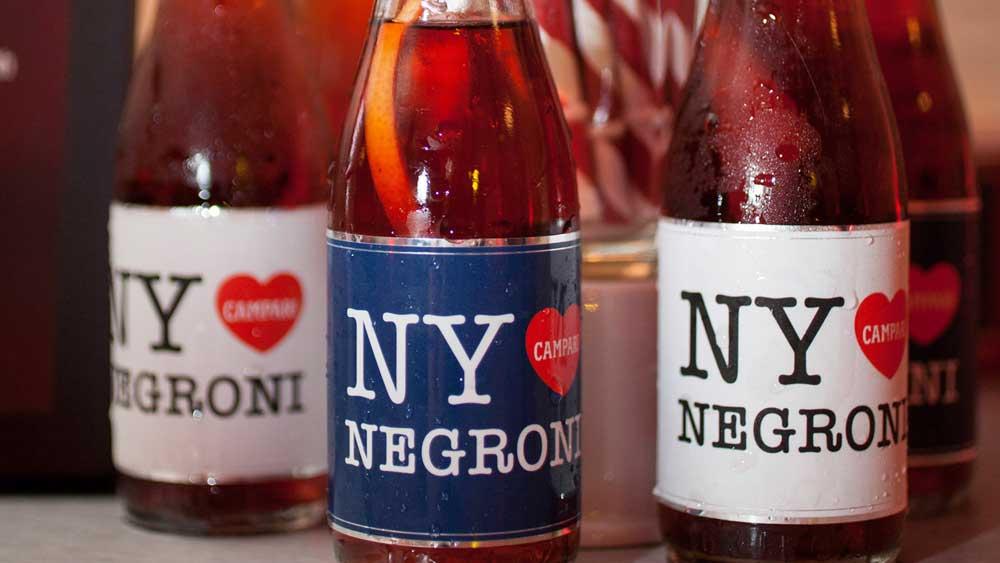 NY Sparkling Negroni