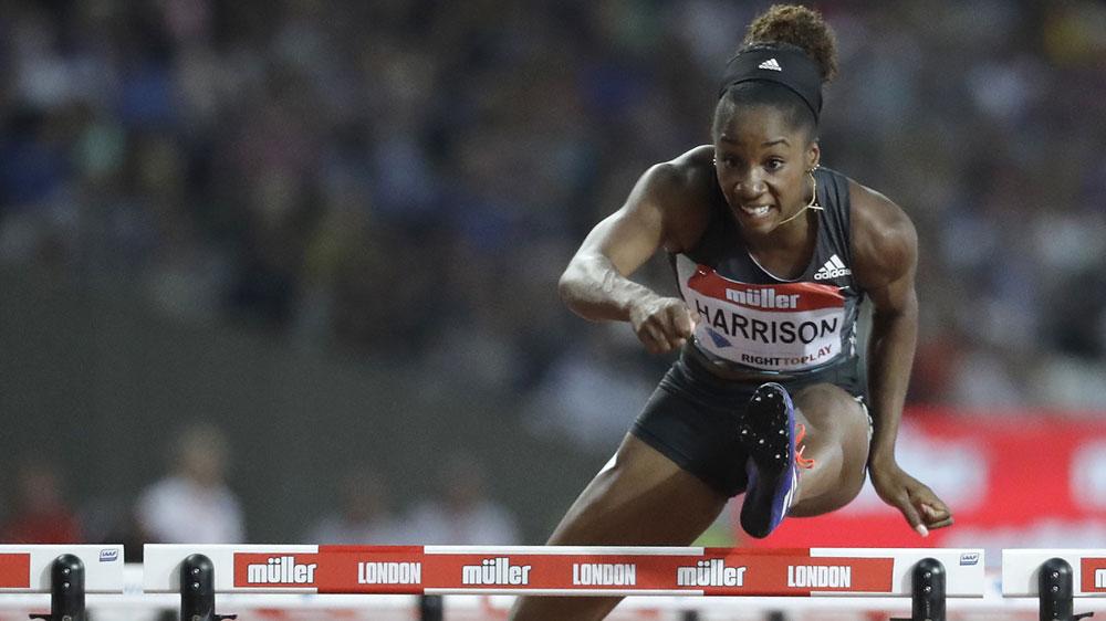 Kendra Harrison (AAP)