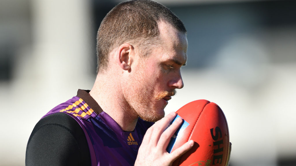 Roughead is still training with the Hawks. (AAP)