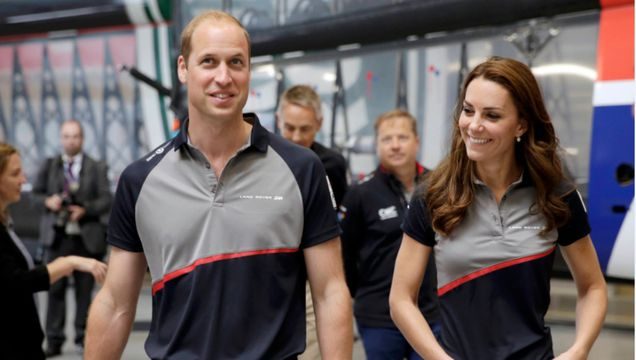 IN PICTURES: Duke and Duchess of Cambridge attend America's Cup World Series