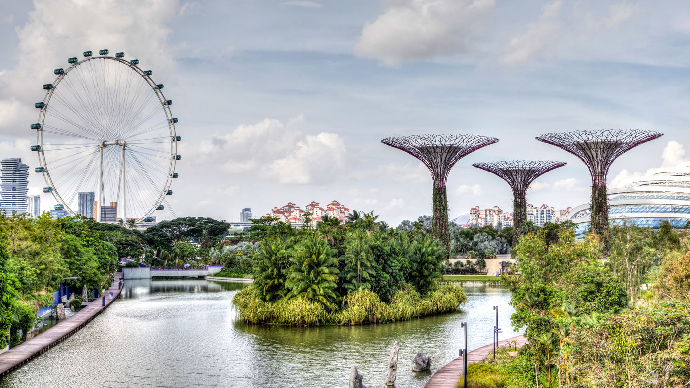 Natural beauty in Singapore