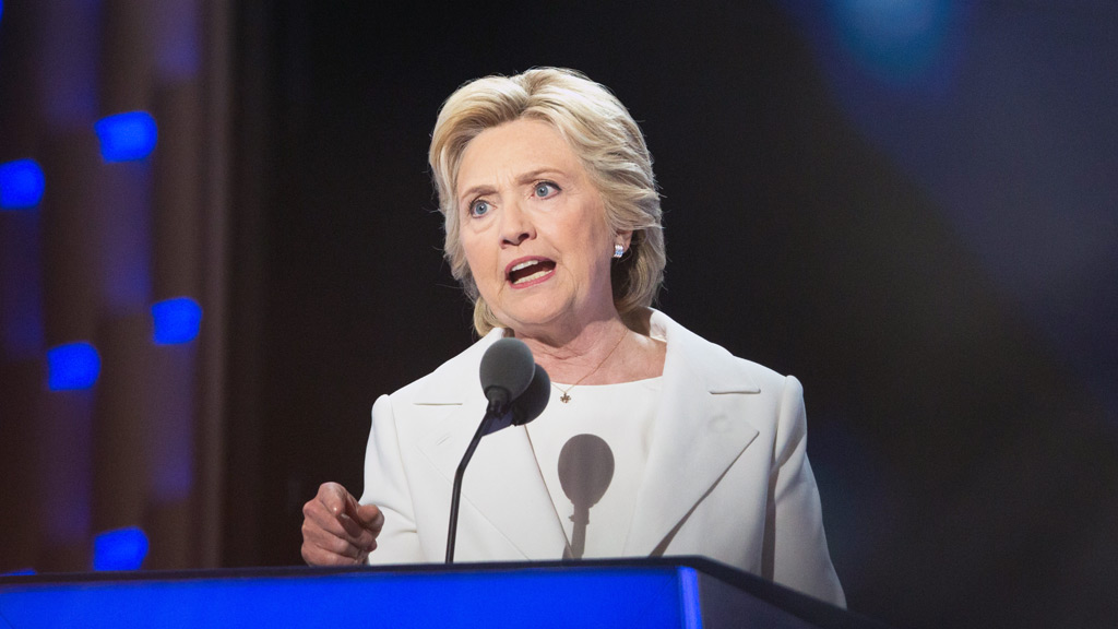 The documents allegedly concern Democratic candidate Hillary Clinton.