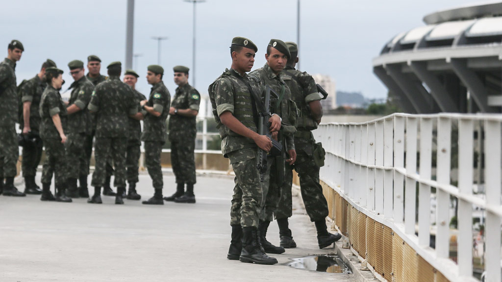 Training exercise 'explosion' rocks main Rio Olympic stadium