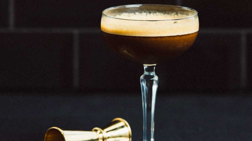 Stolen smoked espresso martini
