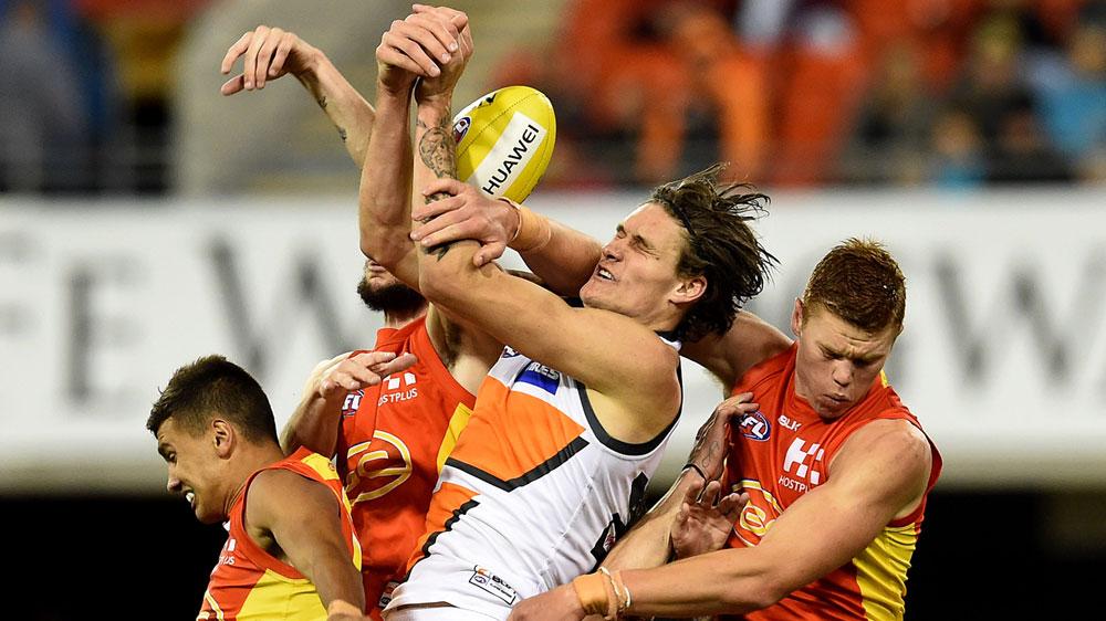 Giants edge brave Suns in AFL thriller
