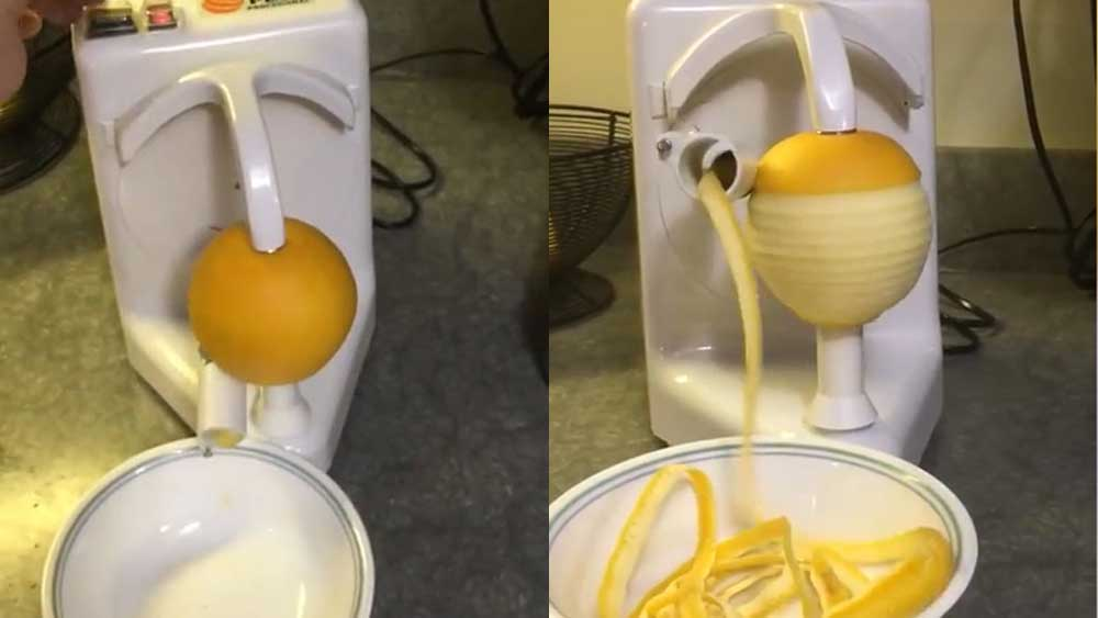 Orange peeler Pelamatic goes viral