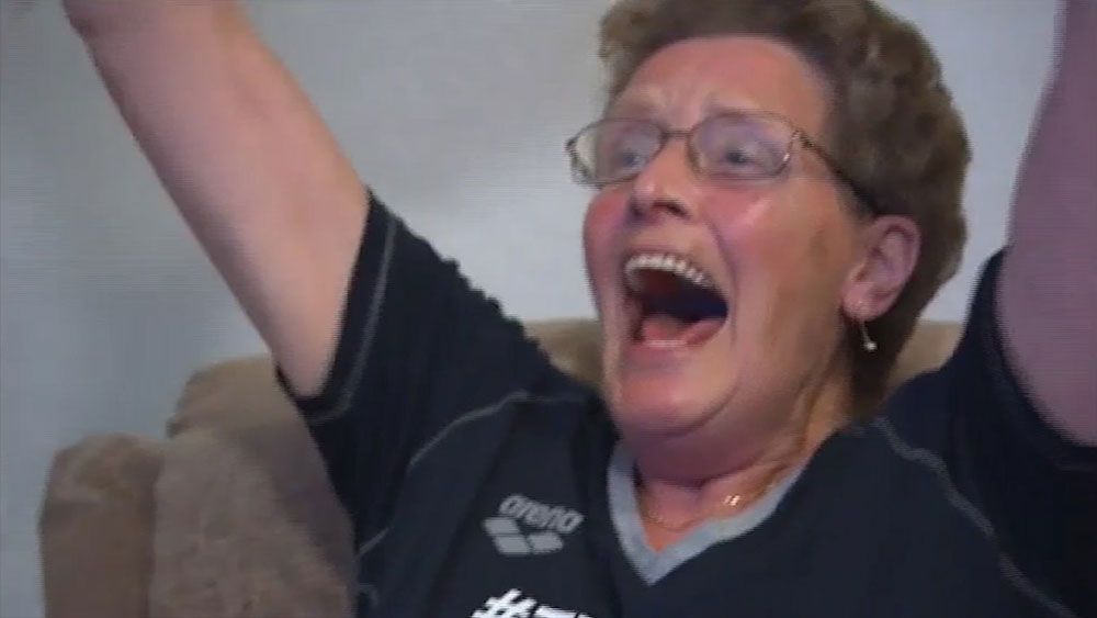 Rio Olympics: Grandmother is champion swimmer's biggest fan