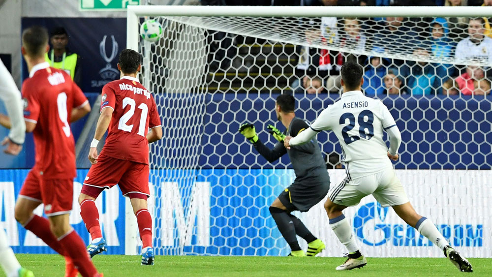 Asensio scores on debut as Real triumph
