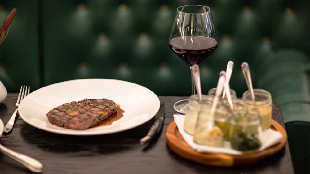 The Cut Steakhouse, Melbourne. Image: Supplied