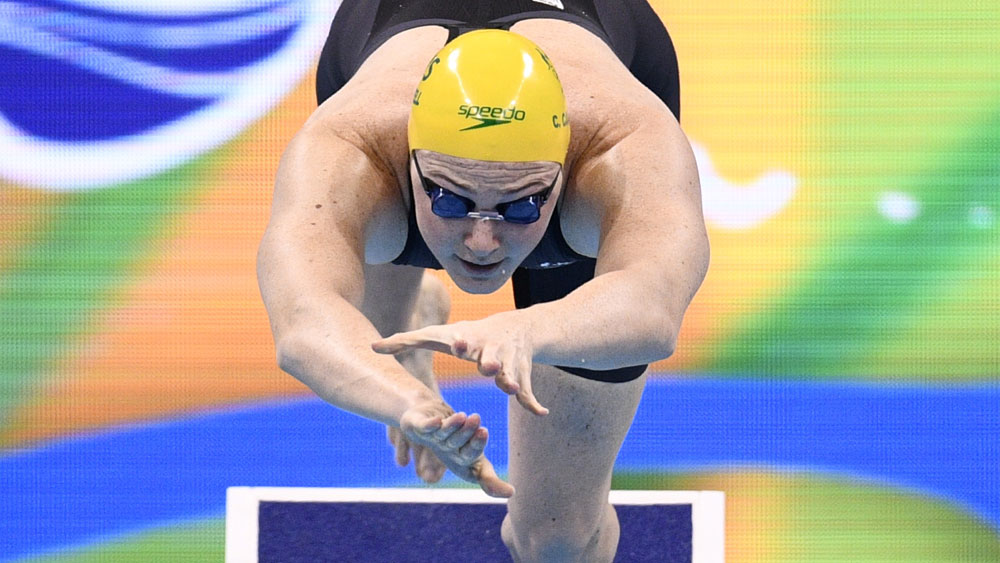 Cate Campbell. (AFP)