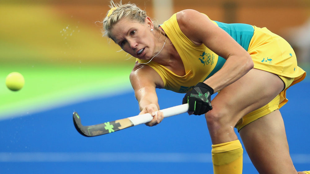The Hockeyroos scored a tough win over Argentina. (Getty Images)