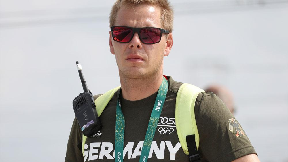 German canoe slalom coach Stefan Henze. (AFP)