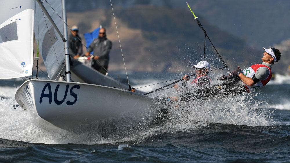 Australia 470 Sailors Will Ryan & Mat Belcher (AFP)
