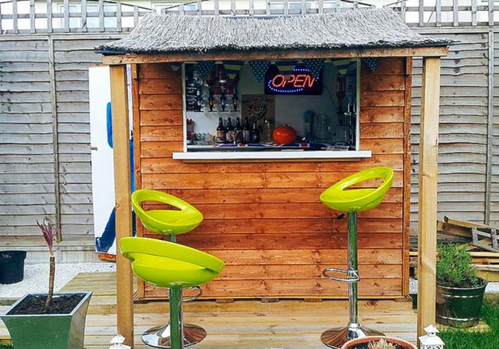 Five backyard bars you'll want to build immediately