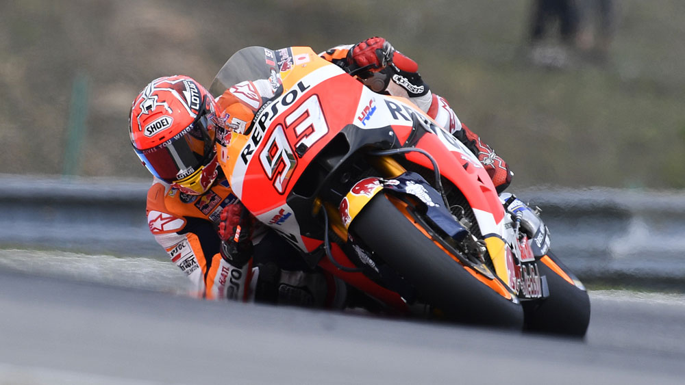 Marquez on pole for Czech MotoGP - Nine Wide World of Sports - Motorsport
