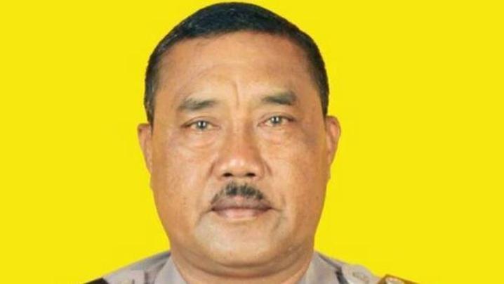 Police officer Wayan Sudarsa was found dead on Kuta Beach last August. (Supplied)