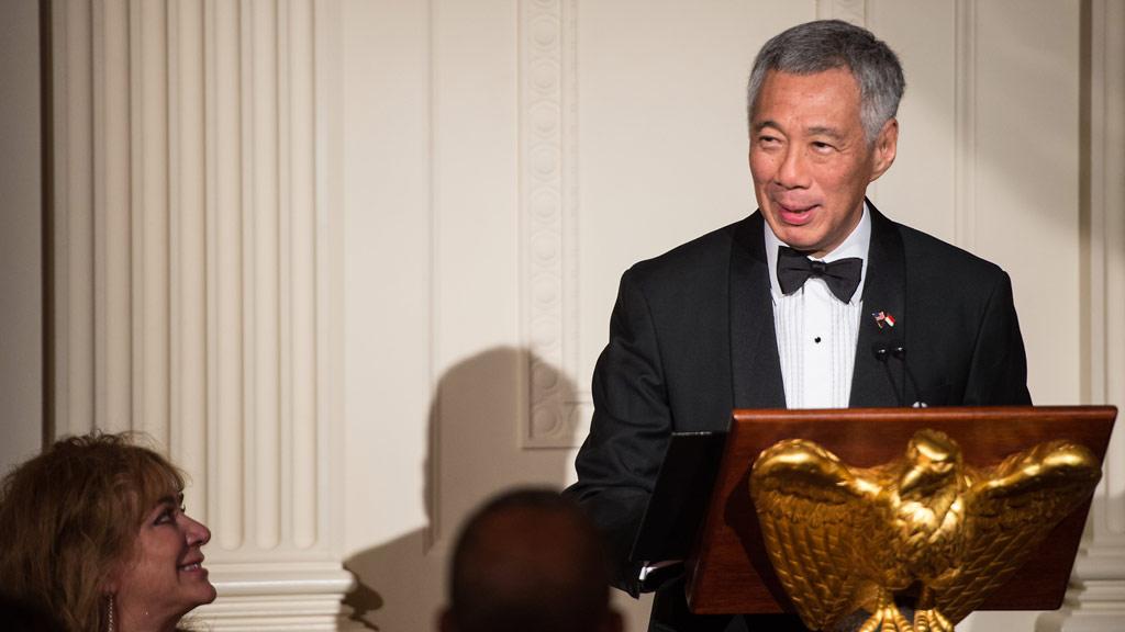Singaporean PM falls ill during live TV speech