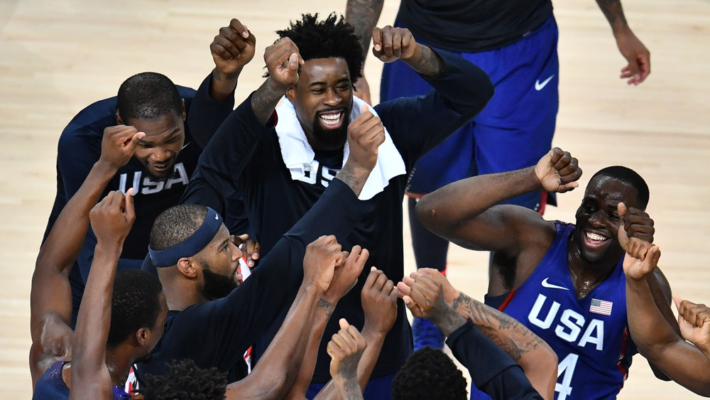 Rio Olympics: Kevin Durant leads US men's basketball to gold medal