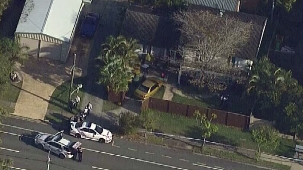 The shooting occurred across the road from Labrador State School. (9NEWS)