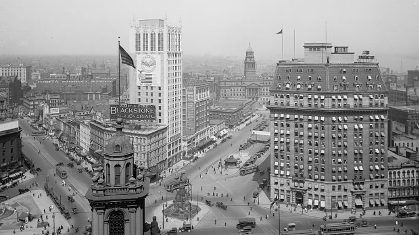 Detroit was a bustling city in first half of the 20th century.