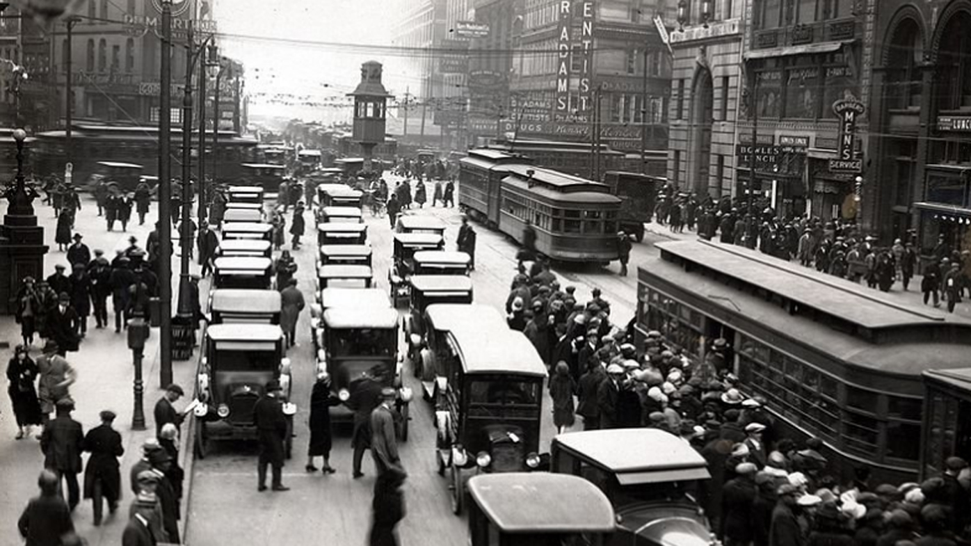 In the early 1900s, Detroit became the automotive capital of the world.