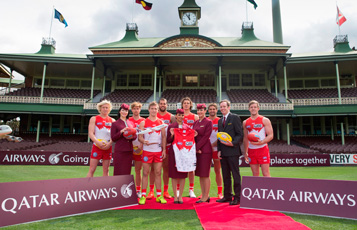 Qatar Airways announces first AFL sponsorship deal