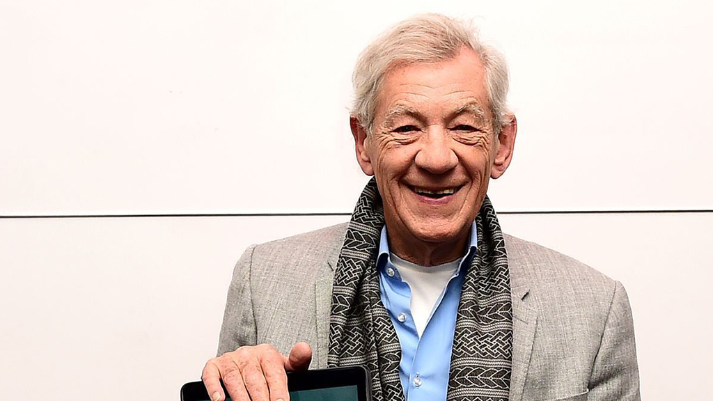 Sir Ian played the role of Gandalf in the films, but says he doesn't do dress-ups in real life. (AAP)