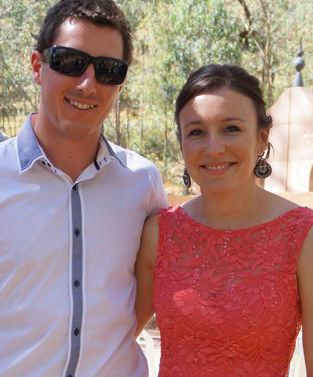 Stephanie Scott and her fiance Aaron Leeson-Woolley were due to be married six days after she was killed.