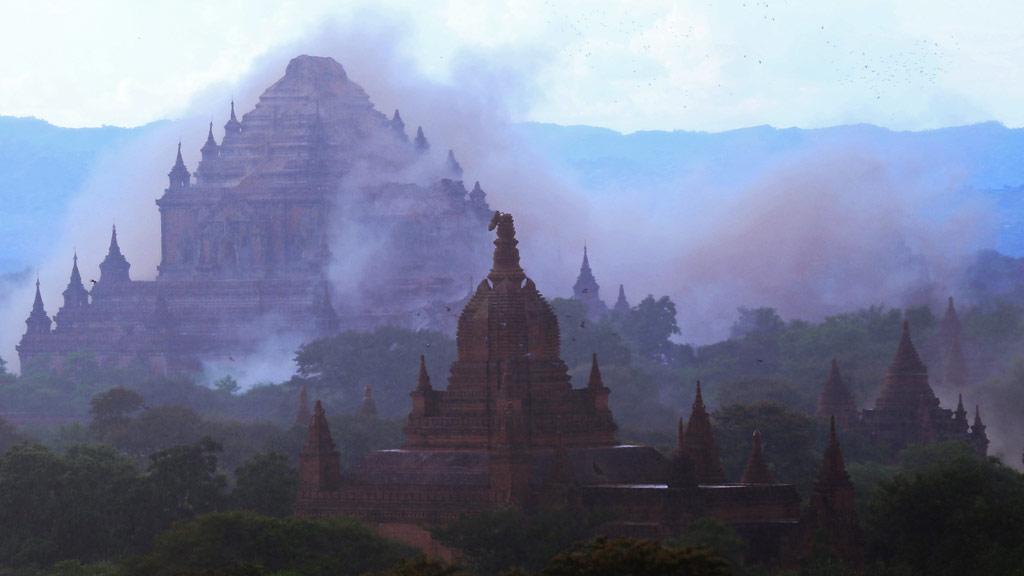 Powerful quake hits Myanmar, damaging famed Bagan temples