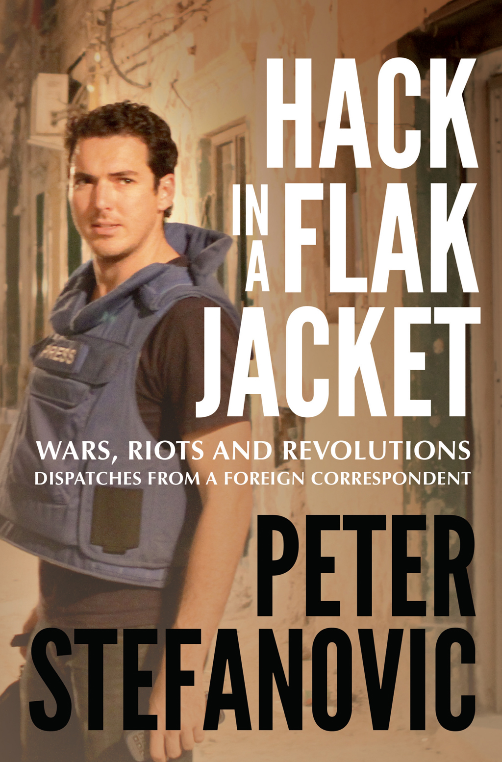 'Hack In A Flak Jacket' is out now. (Hachette Australia)