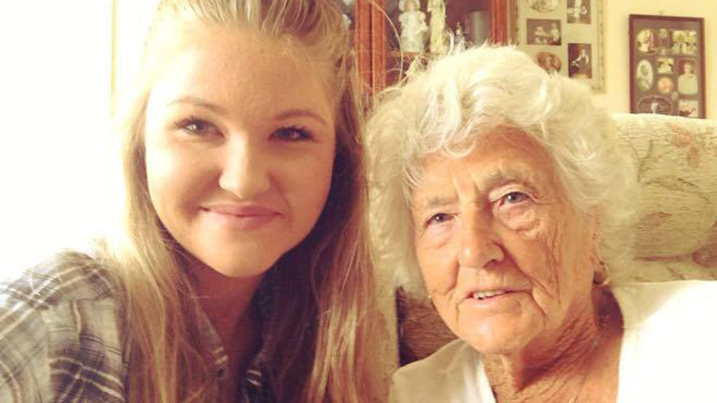 Aussie posts joyous photo after befriending 'lonely' 91-year-old woman