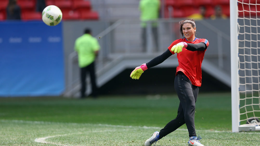 US goalkeeper Hope Solo(Getty)