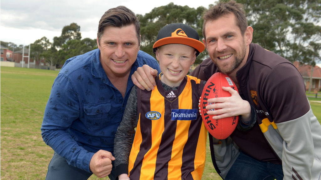 'The Footy Show' telethon: Sporting greats unite to give children's cancer the boot